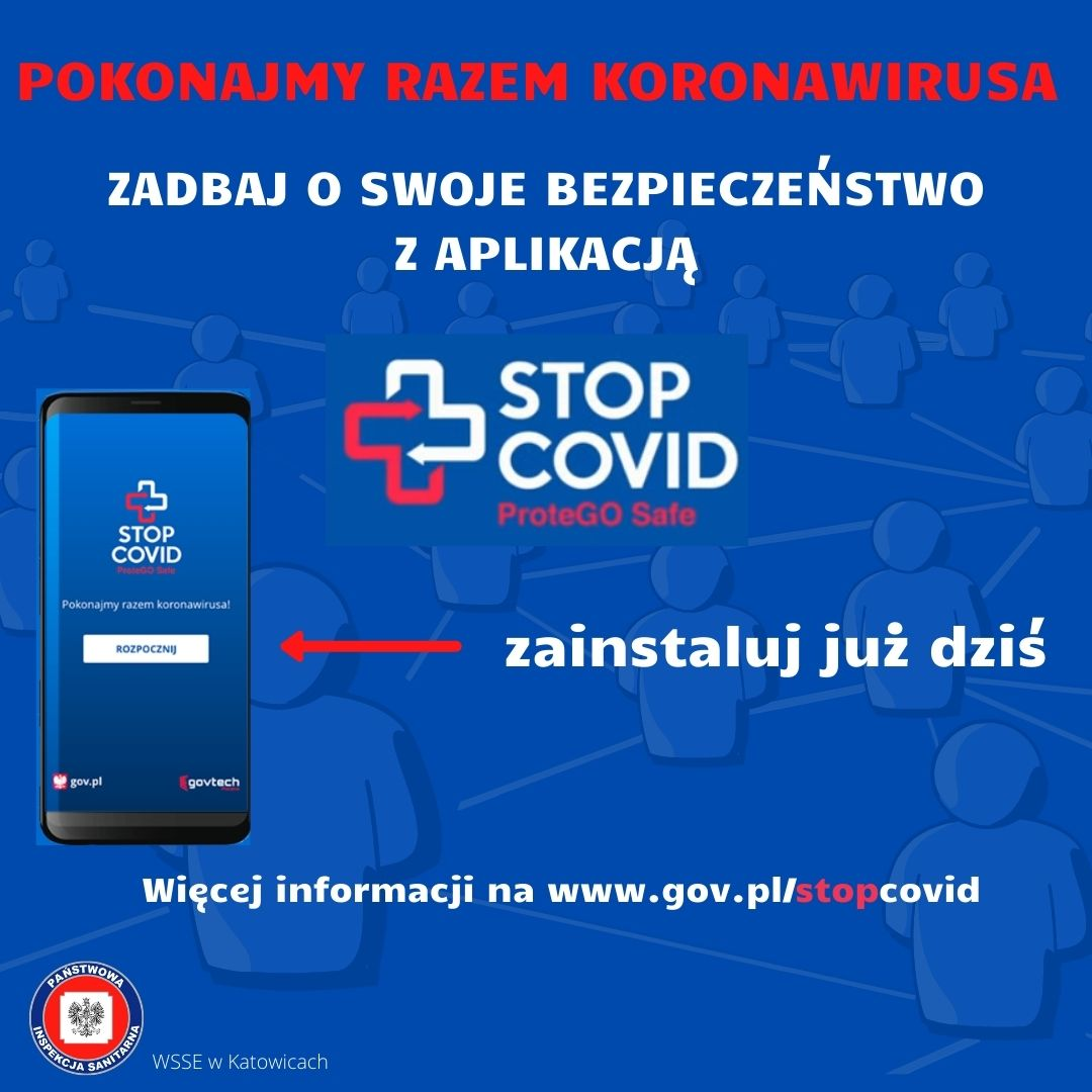 banner Facebook - aplikacja COVID
